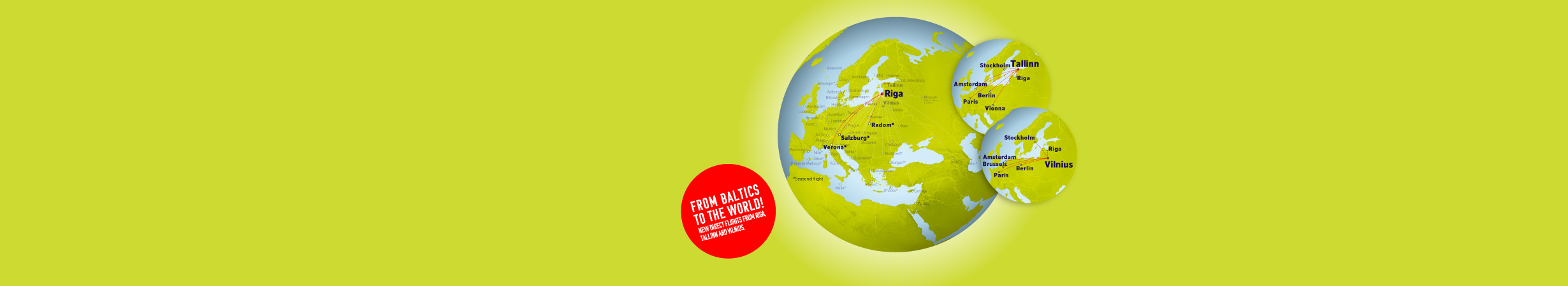 From Baltics to the world!