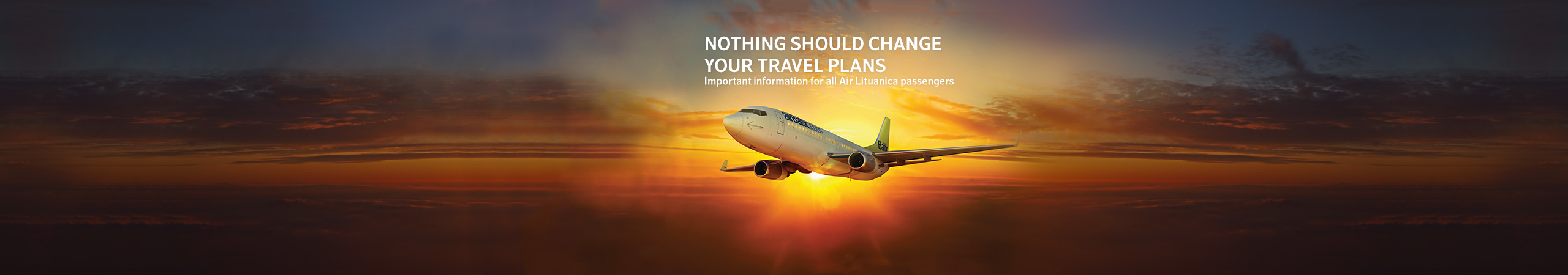 Your plans continue with airBaltic