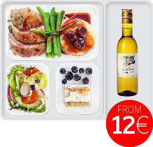 Meal preorder on airBaltic flights