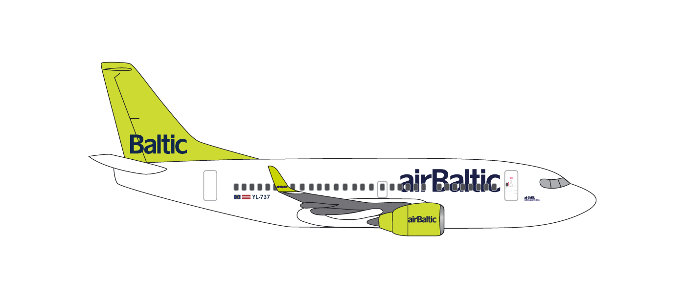 Fleet | About Us - airBaltic