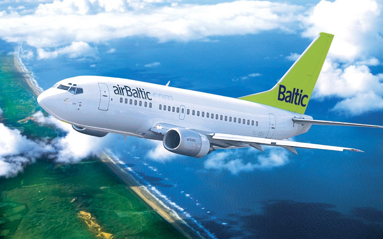 AirBaltic откроет третий маршрут в Россию
