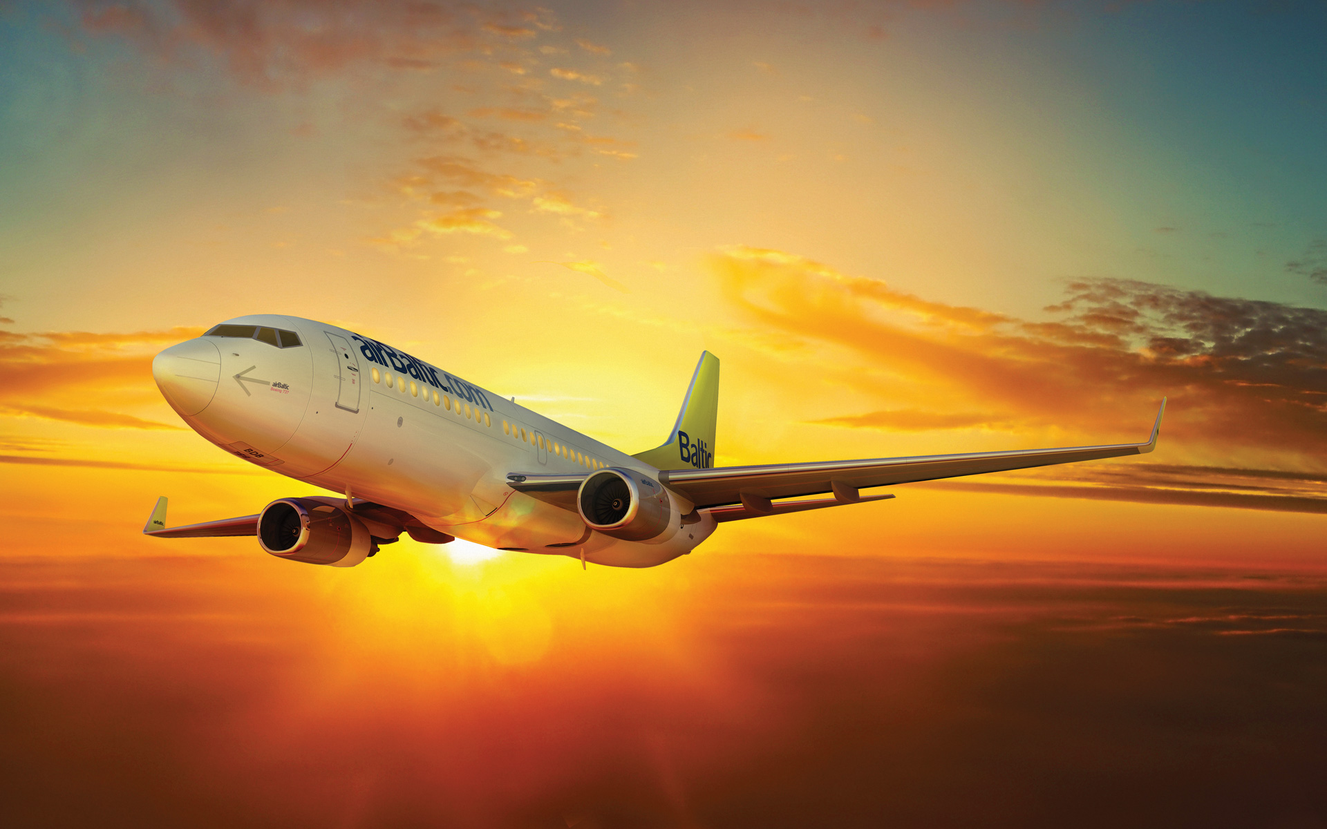 Wallpapers Airbaltic Planes Airbaltic