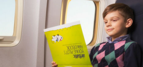 Travelling with kids on airBaltic flights