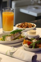 airBaltic meal and drink