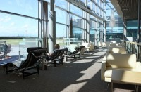 Riga Airport business lounge